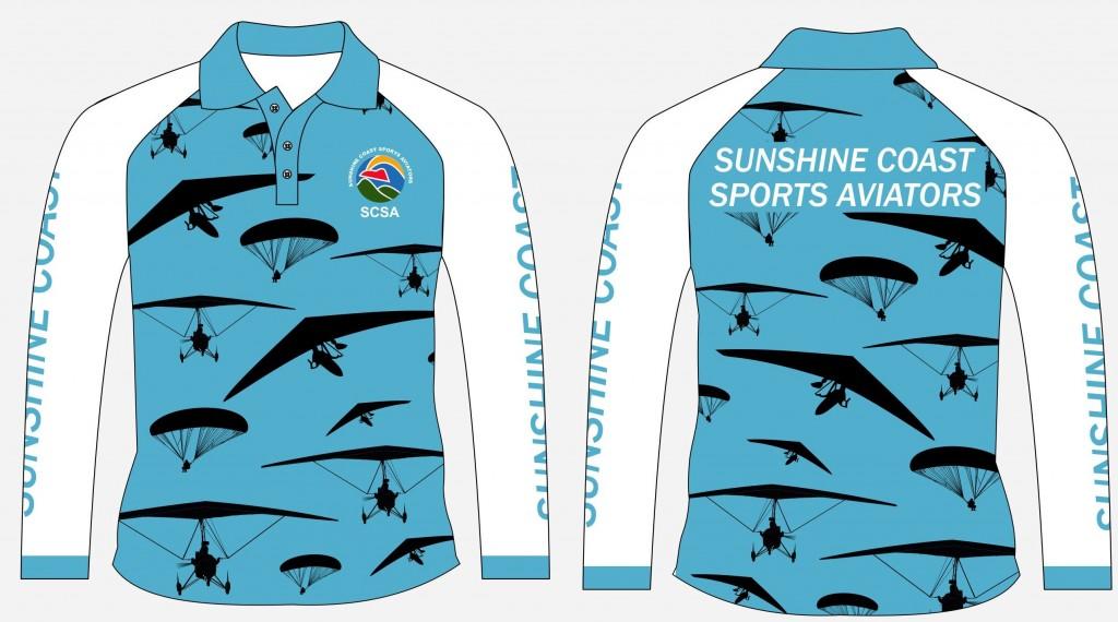 Sunshine Coast Aviators Long Cropped