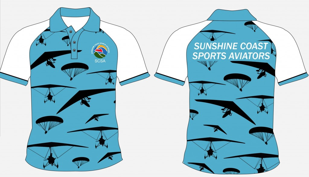 Sunshine Coast Aviators Short Cropped