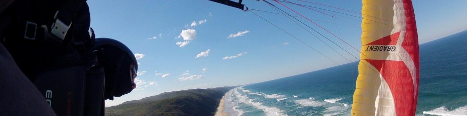 paragliding sunshine coast