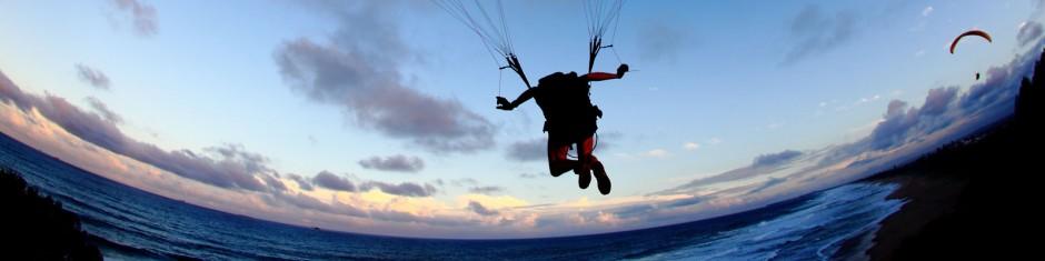 sunshine coast paragliding
