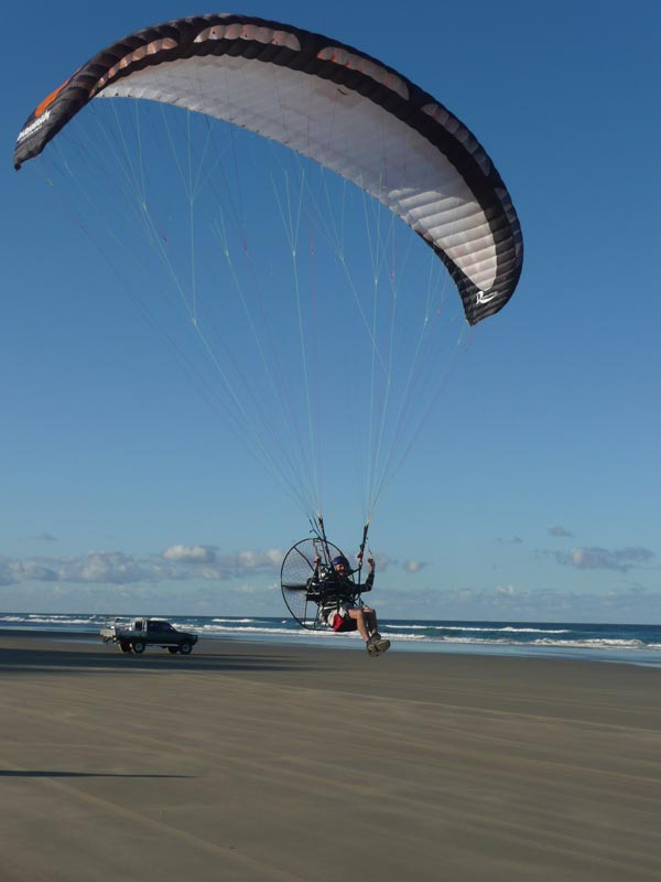 sunshine coast paramotoring